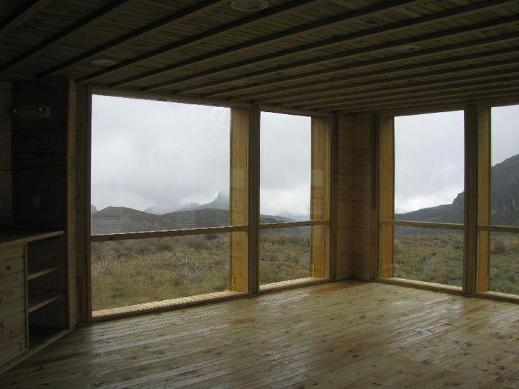 Refugio Parque Nacional los Nevados #woodarchitecture #wood #madera #casasenmadera #arquitecturaenmadera http://www.tallerdensamble.com