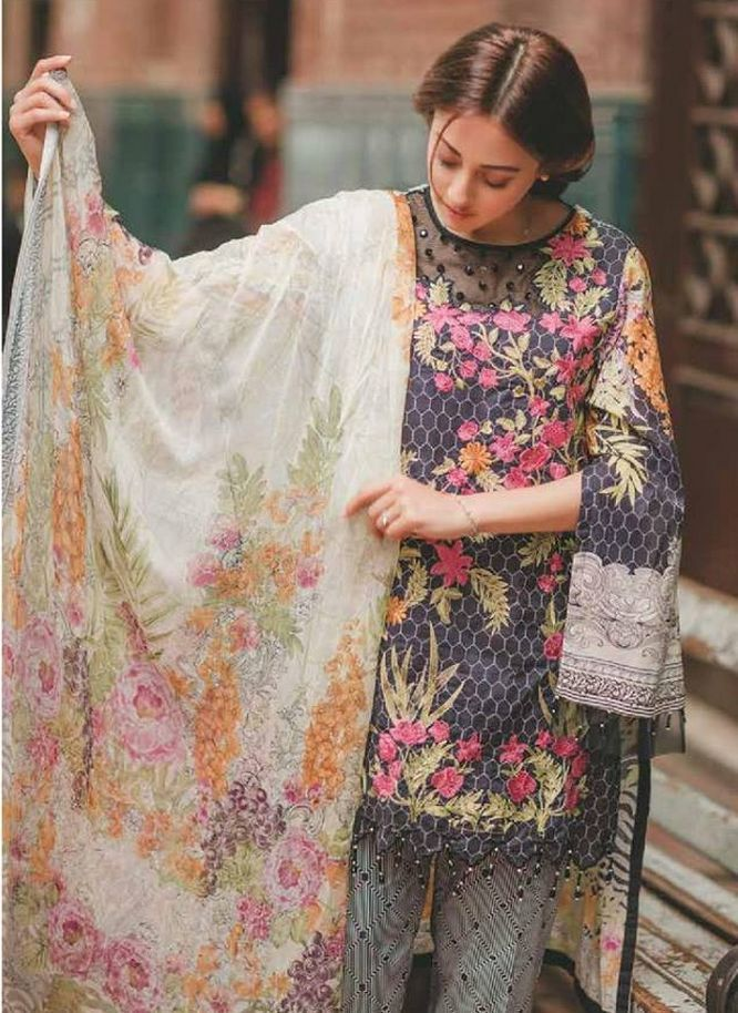 5161715394 After the great success of Rang Rasiya luxury lawn collection 2017 volume  1, the famous fashion brand of Pakistan brings another luxury summer  collection ...