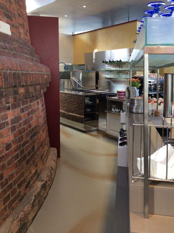 La gelateria nella Torre dell'Acqua - ZAMBON FRIGOTECNICA