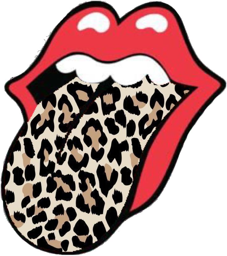 Rolling Stones With Leopard Tongue👅👅🐆 In 2020 Rolling Stones Screen Savers Stone