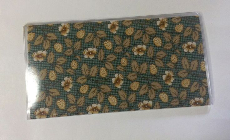 Daisy Checkbook Cover, Handmade, Checkbook Covers For Duplicate Checks #Handmade