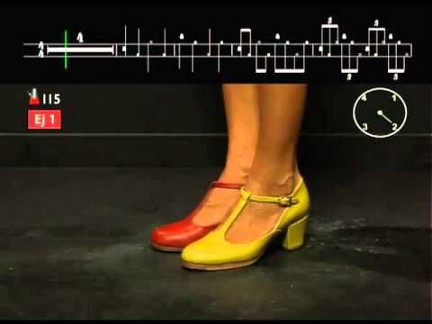 Metodo de Zapateado Flamenco - YouTube