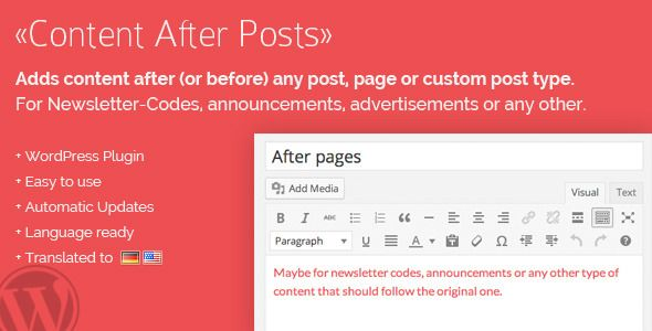 Content Posts WordPress Premium Plugin