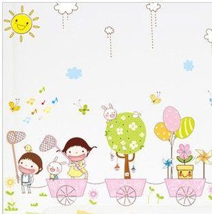 spedizione gratuita cartoon adesivi murali adesivi decorazione bambino vero autoadesivo della parete