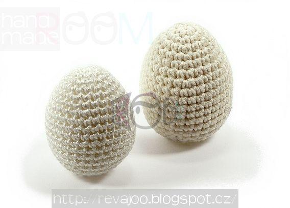 háčkované vajíčko - návod