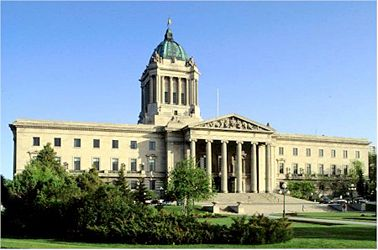 """""""The secret design elements of the Manitoba Legislative Building are now being marketed as part of an international tourism campaign. The Canadian Tourism Commission announced this morning that it has added the Hermetic Code Tour to its list of premiere tourist destinations."""" The Hermetic Code tour is based on the book by architectural historian Frank Albo. The book explores the occult and mythological symbolism built into the Legislative building and the Masonic connections of its…"""