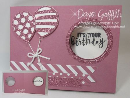 Peekaboo Slider card video | Dawn's Stamping Thoughts | Bloglovin'