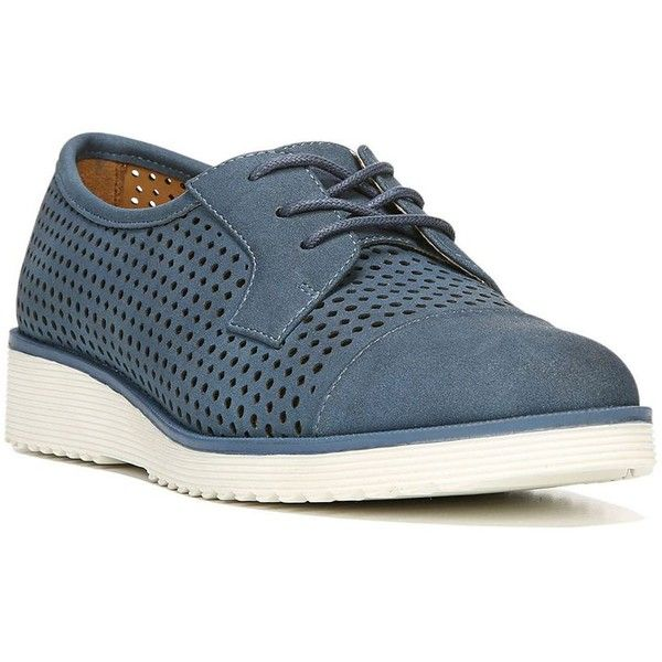 NaturalSoul by naturalizer Vivian Women's Oxford Shoes ($70) ❤ liked on Polyvore featuring shoes, oxfords, blue, cap toe oxford shoes, cap toe oxford, oxford shoes, naturalizer oxford and naturalizer shoes