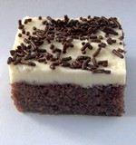 Čokoládové kostky s tvarohem