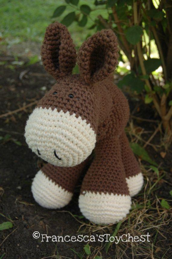 82 best donkey(crochet) images on Pinterest   Esel, Pferde und ...