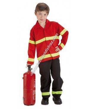 Disfraz de bombero para ni os disfraces carnaval www - Disfraces de pina para ninos ...