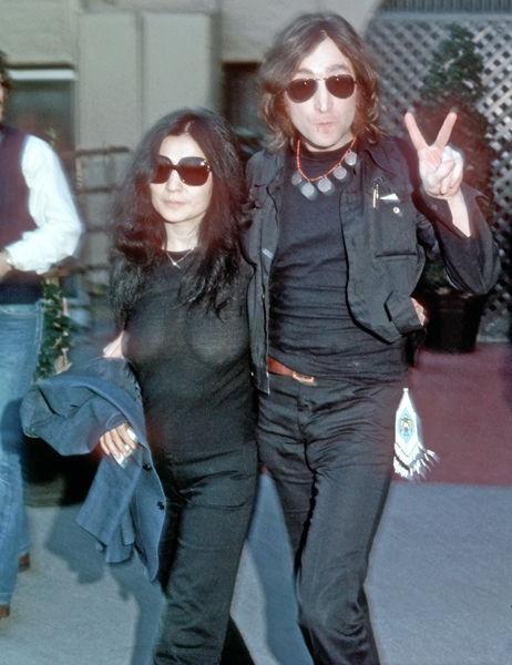 Yoko onos breasts