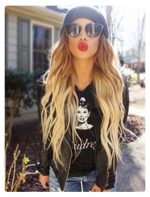 Cute Gym Hairstyles For Long Hair : Best long wavy hair ideas on