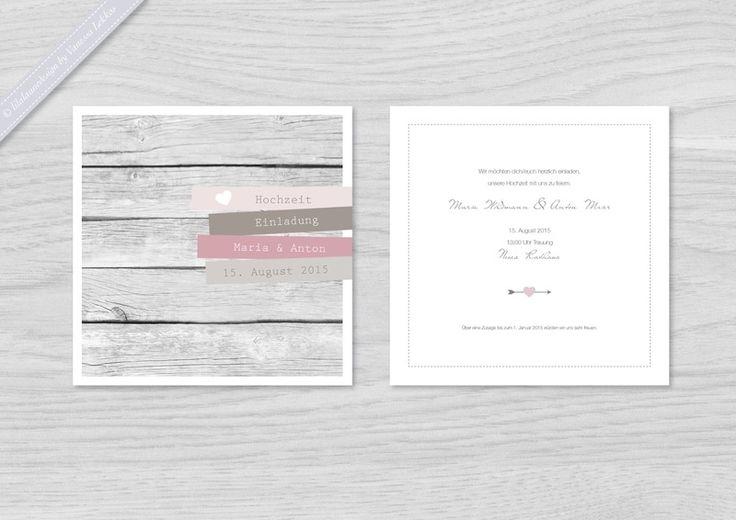 Die besten 17 ideen zu einladungstext hochzeit auf for Hochzeitseinladung holz