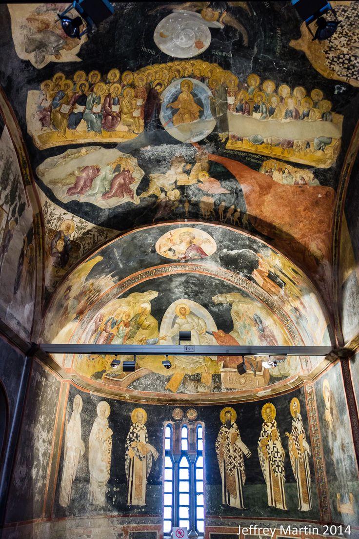 Kariye (Chora) Museum Mosaics mosaique Istanbul, Turkey