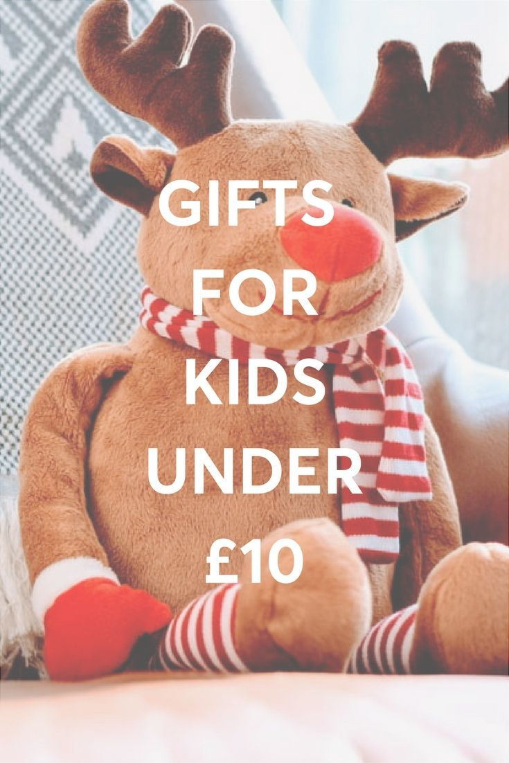 Gift ideas for kids that are under 10 and available in real shops nearby!