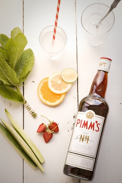 Sip a traditional Pimm's Cup for the opening ceremony, and be in London in spirit.