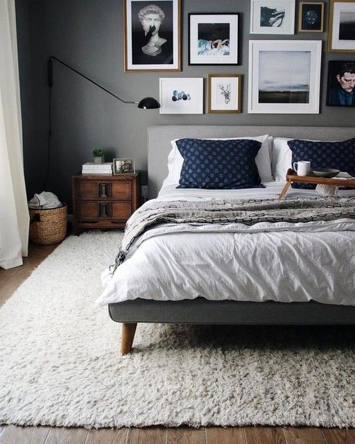 Love headboard, bed legs, wall color for MBR