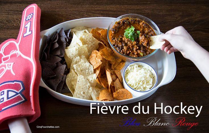 Quelle bonne idée pour manger devant la télé les soirs de match!! #Nachos #Canadiens