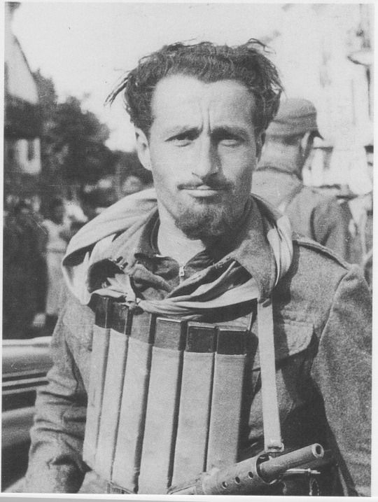 Italian partisan Piero Balbo, ca 1944, Northern Italy