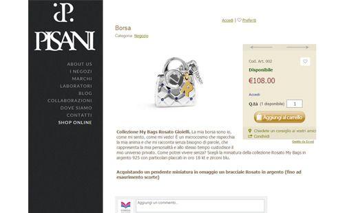 Abbiamo realizzato la piattaforma e-commerce per Gioielleria Pisani! Scopri il progetto completo--> http://www.edimedia-fi.it/progetti/realizzazione-e-commerce-gioielleria-pisani