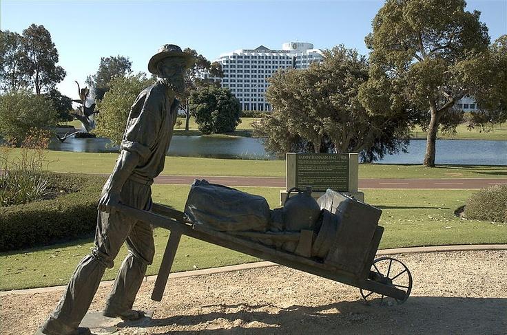 Paddy Hannan, Burswood, Perth, Western Australia