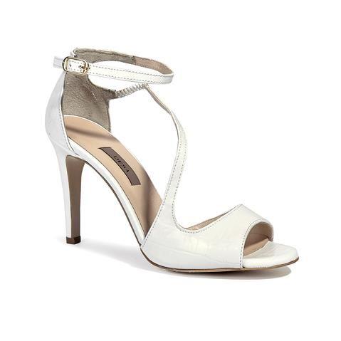 Alexi Kadın Sandalet Beyaz - DESA