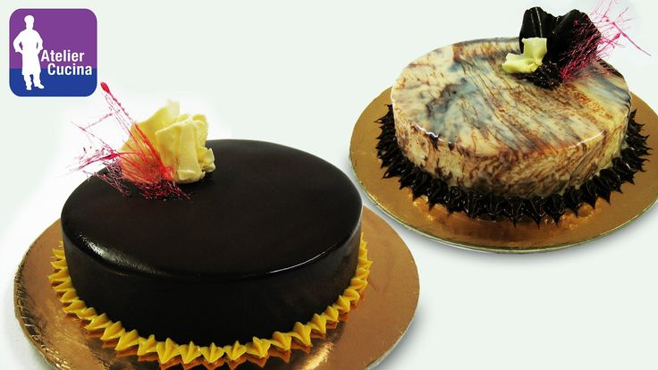 INGREDIENTI: GLASSA AL CIOCCOLATO FONDENTE: (per 2 torte diametro 20cm) 400g cioccolato fondente a scaglie 250-300g panna fresca 75g sciroppo di glucosio o 5...