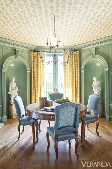 10 Gorgeous Green Rooms