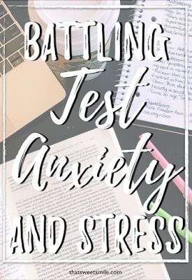 Have you ever found yourself overwhelmed and anxious by a test? So overwhelmed you can even think? So stressed you are in shock for the first 5 minutes of the test? Well, the good news is you are not alone.