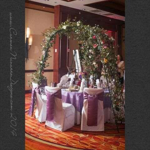 Secret Garden Themed Sweet Sixteen Enchanting Evening