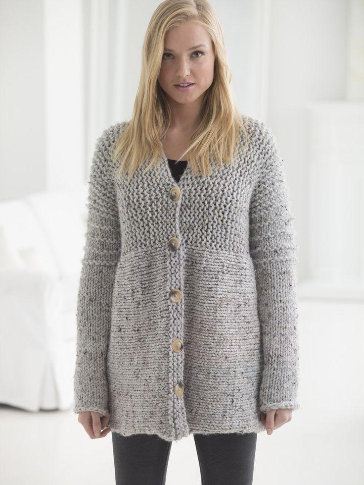 Free Knitting Pattern Cardigan Easy : 25+ best ideas about Knit cardigan pattern on Pinterest Knit shrug, Crochet...