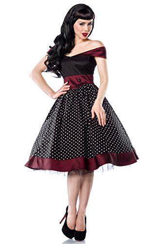 Robe rockabilly années 50 dot à pois-bordeaux couleur avantages 13141-1 a - - FR:38 Chic Star http://www.amazon.fr/dp/B00X2SKLPG/ref=cm_sw_r_pi_dp_a1qowb0RQK09Q