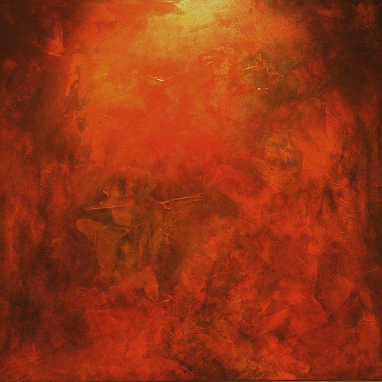 """Autumn Lights"" by artist Carol Hazel - Buy Western Australian Art Online from Out of the Box Biz"