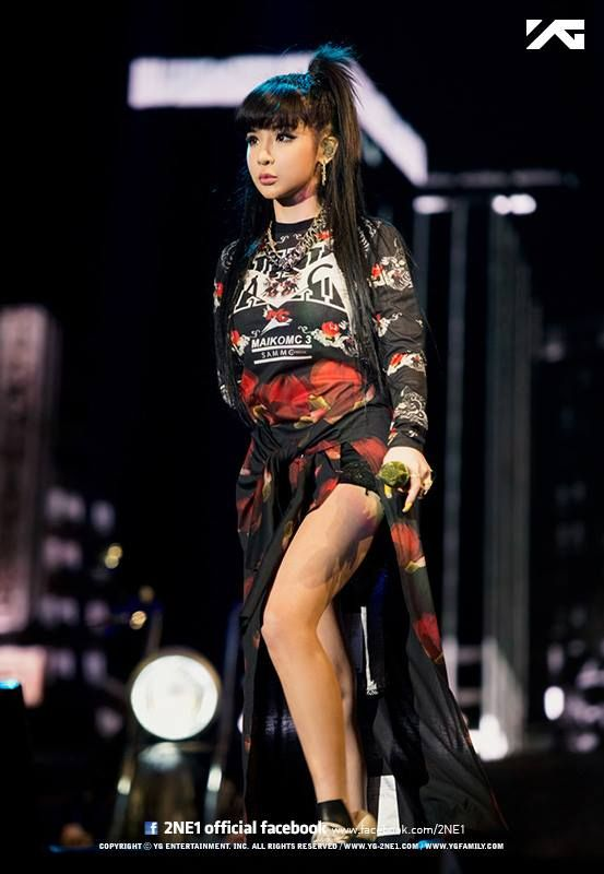 2NE1 박봄 Bom | 2NE1 AON World Tour concert in Shanghai, China (April 11, 2014)
