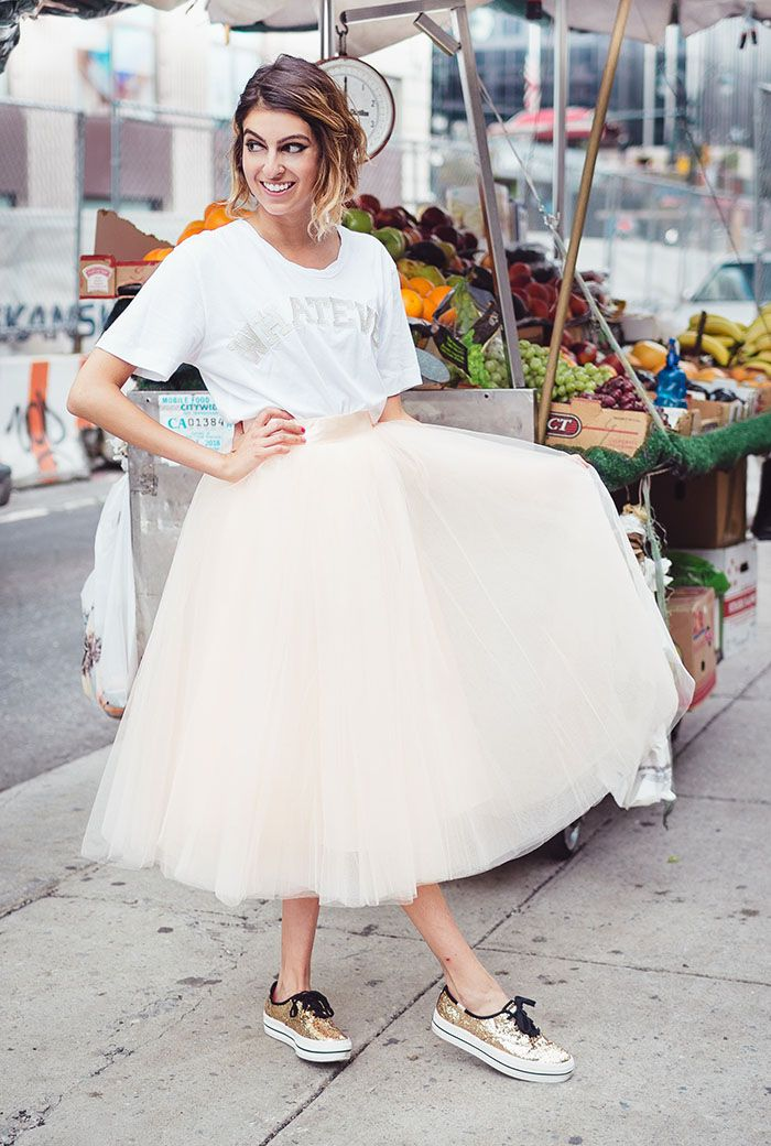 Tulle Skirts and Glittery Shoes