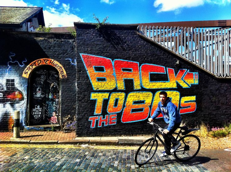 Back to the 80s, Shoreditch | Flickr - Photo Sharing!