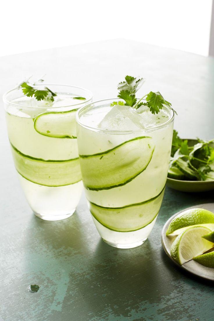 Cucumber Gin & Tonic Recipe Gin, tonic, Gin, Healthy