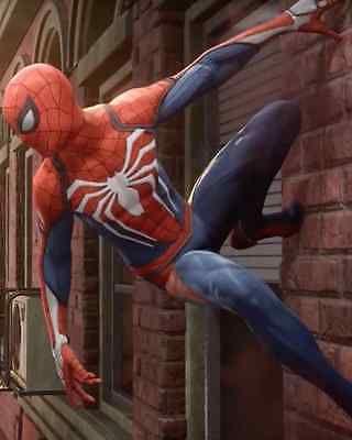 Mais novo de alta qualidade Insomniac Spider-man PS4 Video Game Cosplay Fantasia   Roupas, calçados e acessórios, Fantasias e roupas de figurino, Fantasias   eBay!