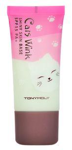 Tony Moly База под макияж Cats Wink Shiny Skin Base SPF15 PA++ 02 Mint 640.00 руб.