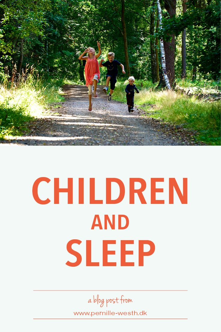Sleep is essential for children. Read my blog post; http://www.pernille-westh-blog.com/single-post/2016/08/11/Sleep-zzzzz-and-children