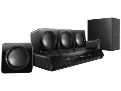 Home Theater Philips HTD3509X/78 300W RMS - 5.1 Canais Conexão HDMI e USB com as melhores condições você encontra no Magazine Lojaslui. Confira!