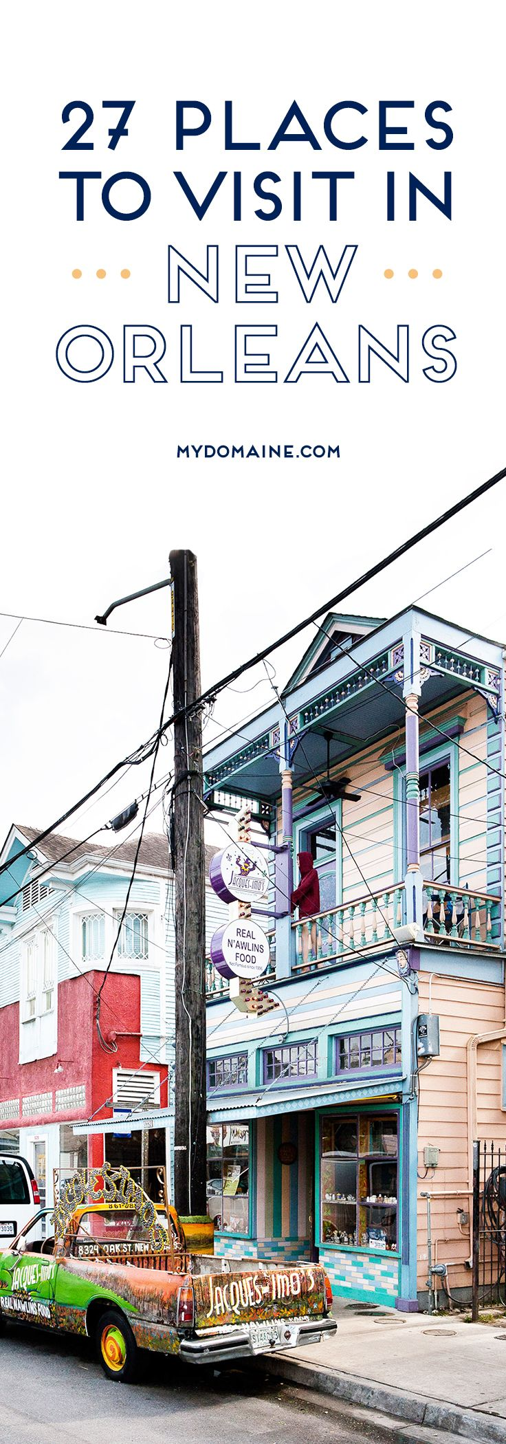 The only NOLA guide you'll ever need // New Orleans travel. I've been dying to go here for years and years!!