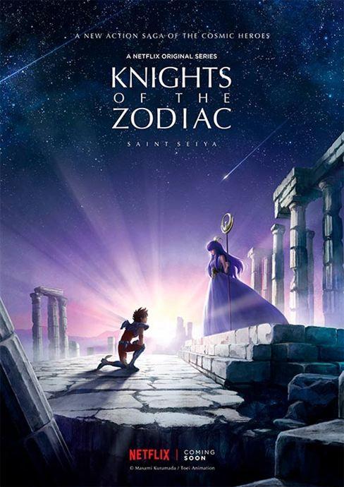 Os Cavaleiros do Zodíaco: Vem aí nova série animada para a Netflix - Notícias de séries - AdoroCinema