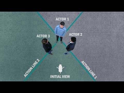 Filmmaking Tutorial: 180 Degree Rule and Other Shot Sequence Tips - YouTube