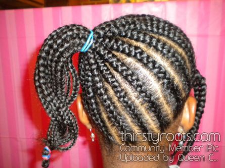 Cool 1000 Images About Kids Braids Hairsytles On Pinterest African Hairstyles For Women Draintrainus