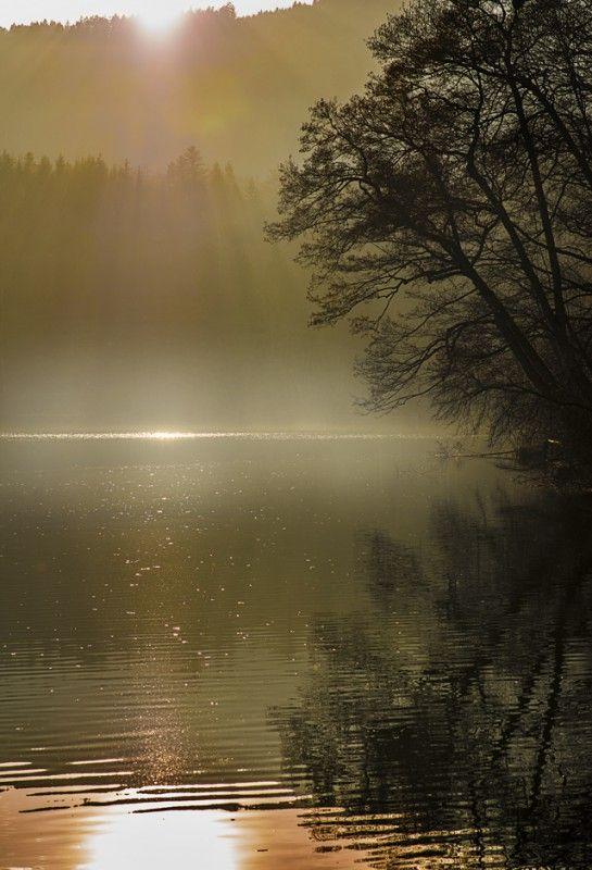 lake in hoeglwörth