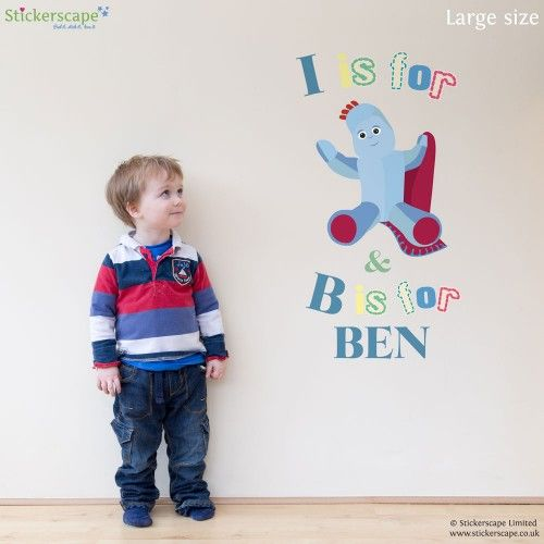 Our Official In The Night Garden Wall Sticker Range Includes Igglepiggle  And All Your Other Favourite Characters From The Hit CBeebies Show. Part 80