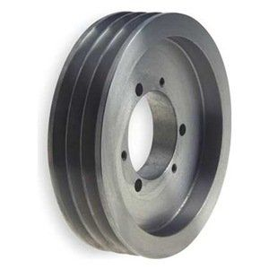 V-Belt Pulley, 12.5 In OD, 3GRV by Gates. $334.27. V-Belt Pulley, Quick Detachable Bushed Bore, Bore Dia. Bushing Required, E Bushing Required, Outside Dia. 12.50 In., 3 Groove, Web Construction, 5V Belt Pitch Dia. 12.40 In., Pitch Pitch Diameter is 0.10 In. Less than Outside Diameter, Cast Iron Material, For Use With 5V or 5VX Single and Joined Type V-Belts, RMA and MPTA 3V and 5V Quick Detachable SheavesFor use with single and joined type V-belts.RMA and MPTA...