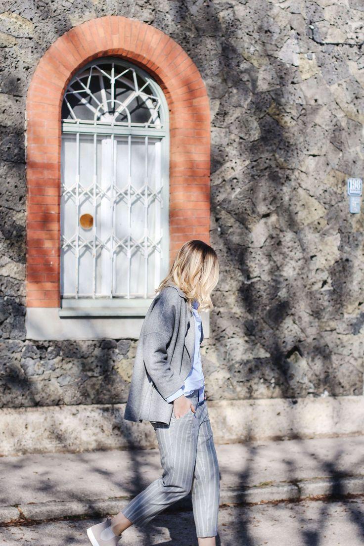 tifmys – Jacket, shirt, earrings and slip-ons: Zara | Pants: Mango | Sunnies: & other Stories | Necklace: Malaikaraiss